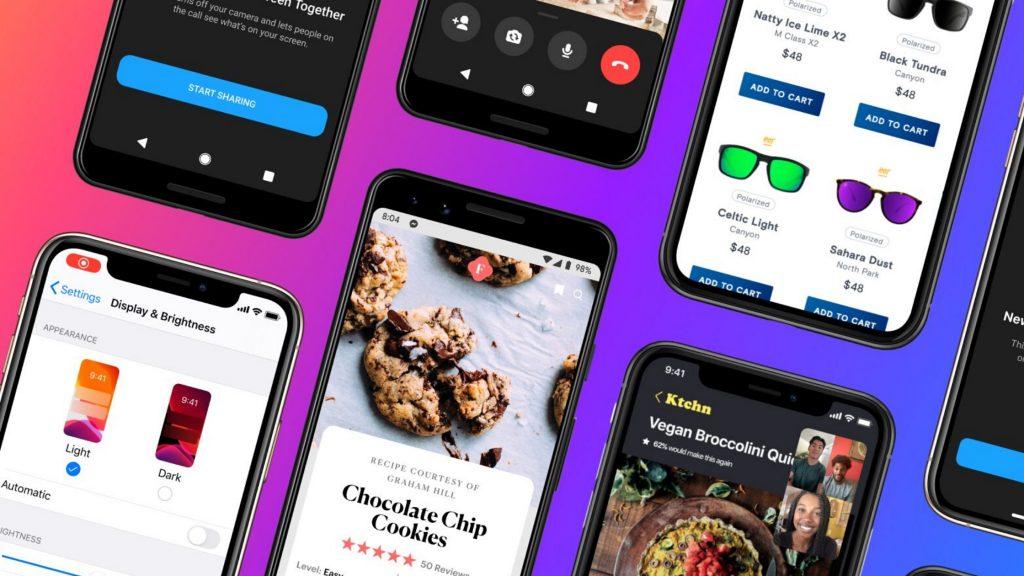 Facebook Upgrade Screen Sharing Capability in Messenger App