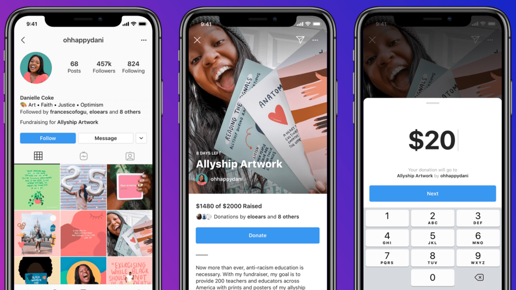 Instagram is Testing a New Feature for Fundraising