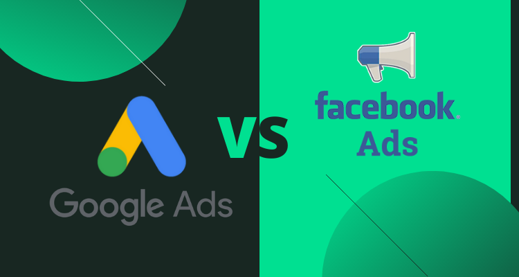 What is the difference between: Facebook ads vs Google ads